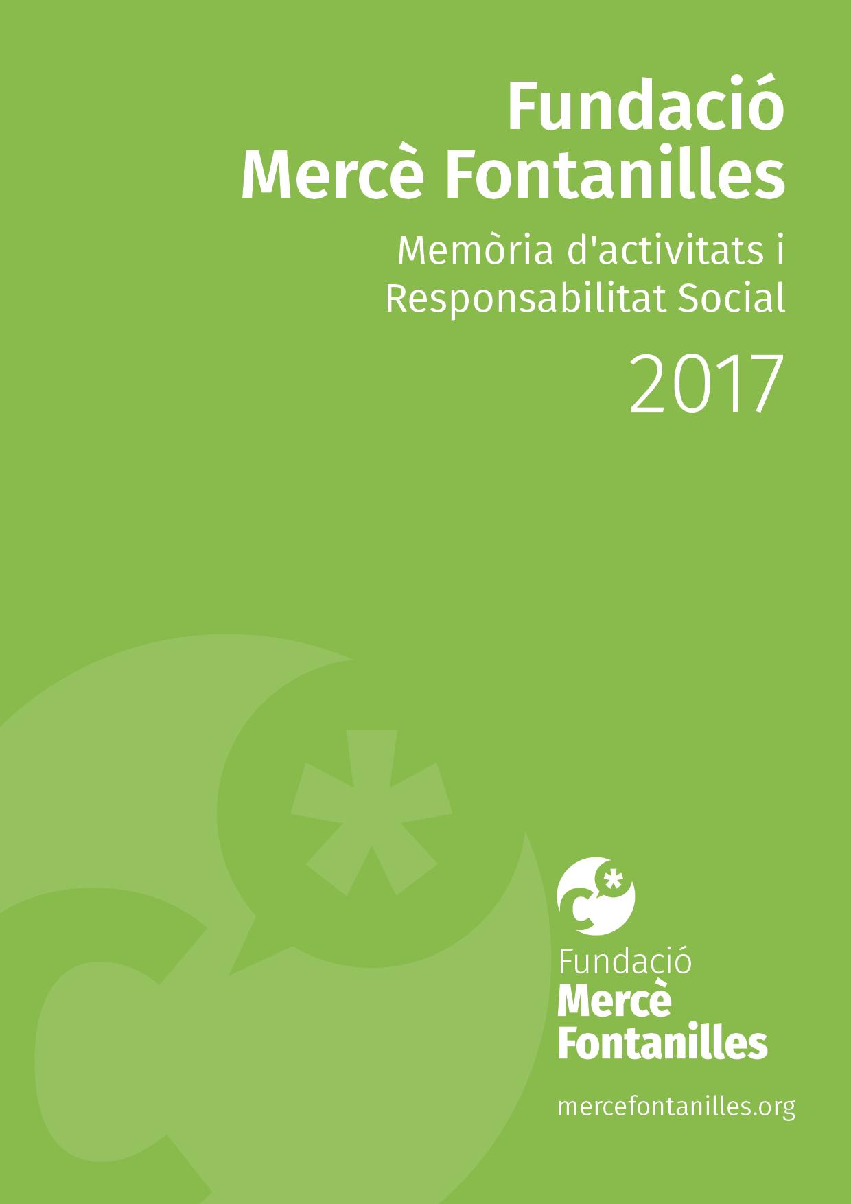 Memòria activitat FMF 2017